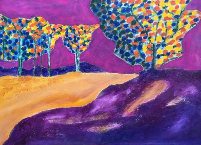 Full Size Van >> Kleurrijke workshop Modern schilderen: Dubbel ...